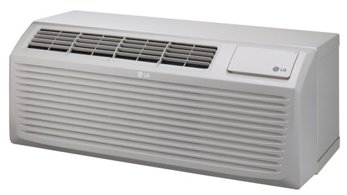 LG LP096HD3B 9700 BTU 12.8 EER PTAC Air Conditioner with Heat Pump - 265 Volt