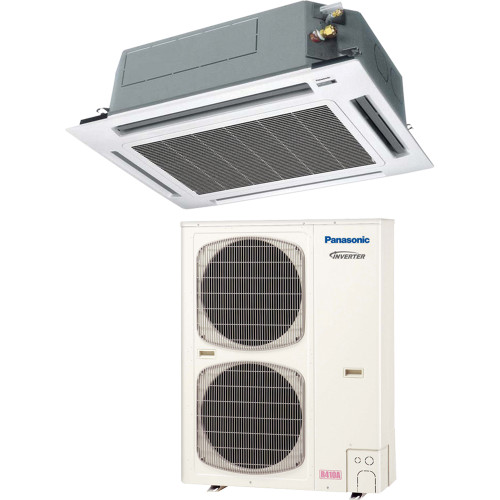 Panasonic 42PEU2U6 39000 BTU Recessed Ceiling Mini Split with Heat Pump, 230 Volt