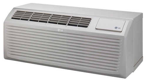 LG LP123HDUC1 12000/12200 BTU 11.9 EER PTAC Air Conditioner with Heat Pump - 208/230 Volt