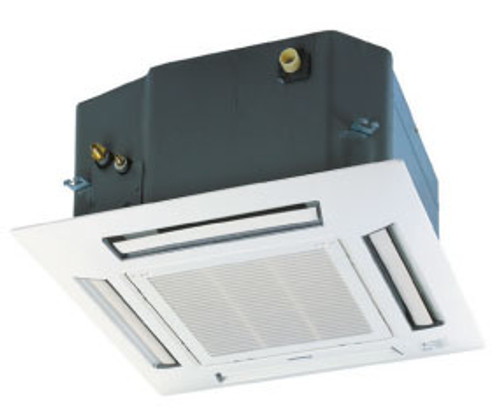 Panasonic CS-E18RB4UW 17500 BTU 4-Way Recessed Ceiling Indoor Unit with EcoNavi - Grille Included