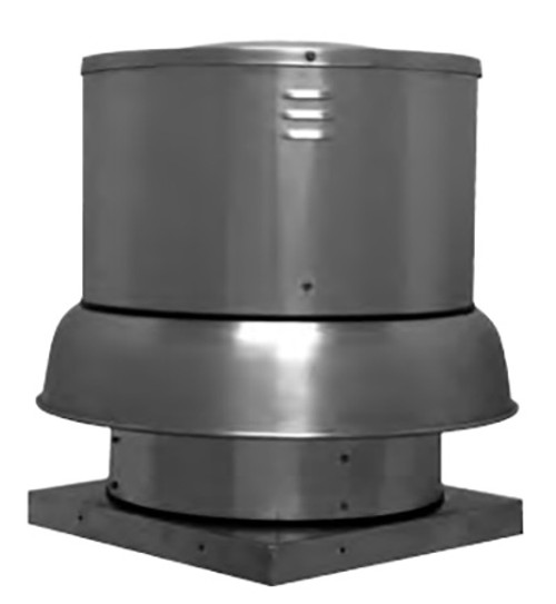 """S & P DB18QH1S Downblast Belt Drive Centrifugal Roof Exhauster - 18"""" Wheel, 115 Volt"""