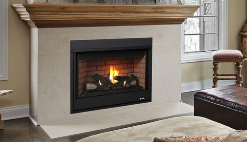 "Superior DRT2033RMP 33"" Direct Vent Fireplace, Rear Vent Merit Series"