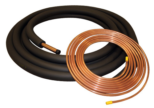 "THS LS503438 50 Foot Insulated Line Set for Central Air Systems - 3/8"" x 3/4"""