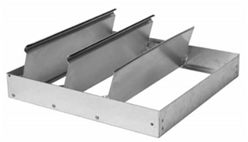 S & P 411008 8 Inch Gravity Damper for Roof Exhausters