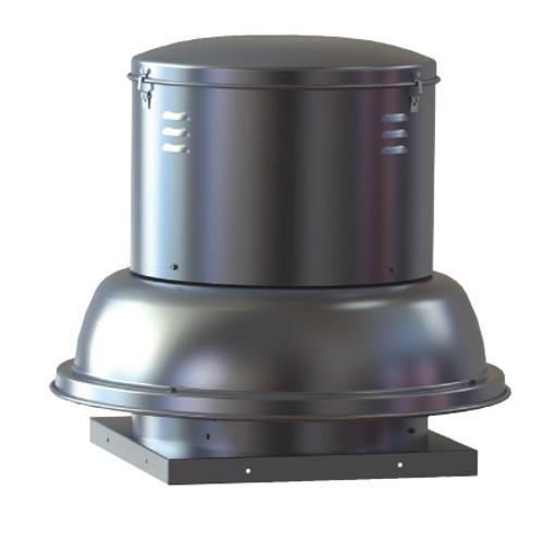 "S & P SDB16PH1S Downblast Belt Drive Centrifugal Roof Exhauster - 16"" Wheel, 115 Volt"