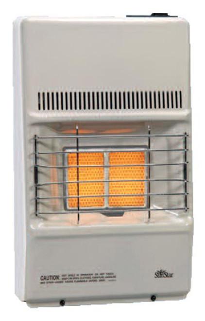 SunStar SC10M-1-LP 8,500 BTU Vent Free Infrared Manual Heater - LP
