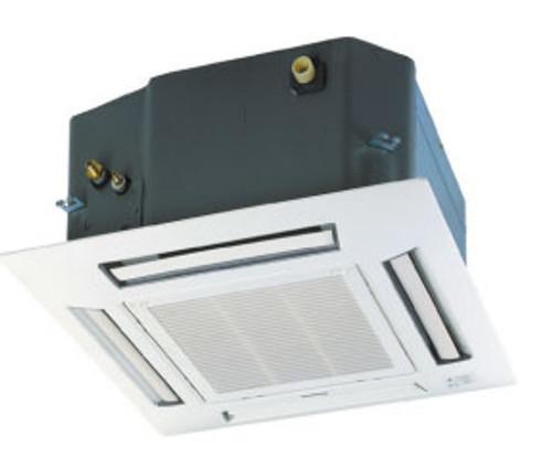 Panasonic CS-E12RB4UW 11900 BTU 4-Way Recessed Ceiling Indoor Unit with EcoNavi - Grille Included
