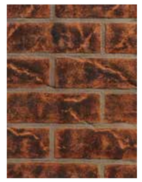Superior ABLK35V Vintage Red Brick Ceramic Liner Kit