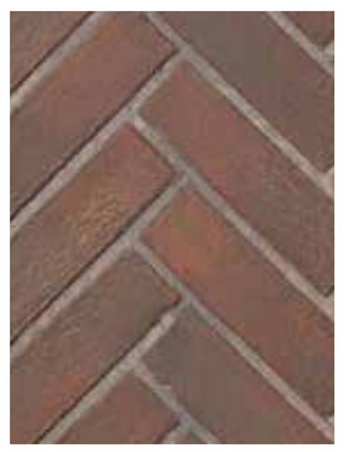 Superior BLK33OTRH Old Town Red Herringbone Brick Ceramic Liner Kit