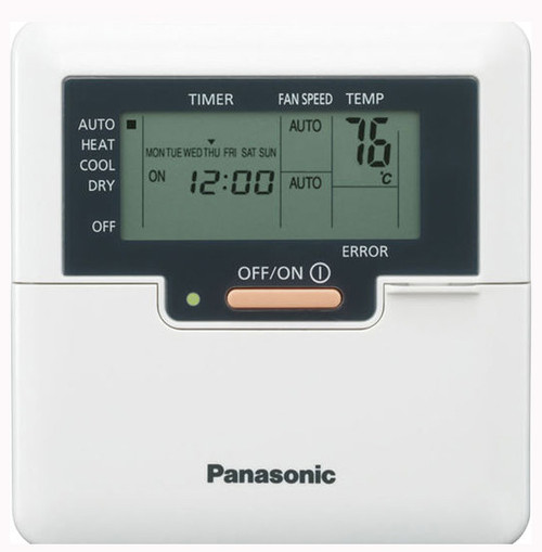 Panasonic CZ-RD52DU Wired Remote Controller For Low Profile Ducted Ceiling Units