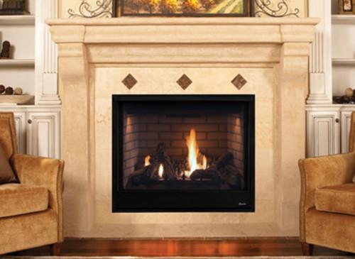 "Superior DRT3535DEN 35"" Direct Vent Fireplace, Top/Rear Vent Pro Series"