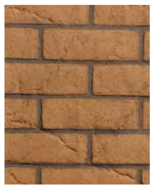 Superior MBLK33B Buff Stacked Brick, Ceramic Brick Liner Kit
