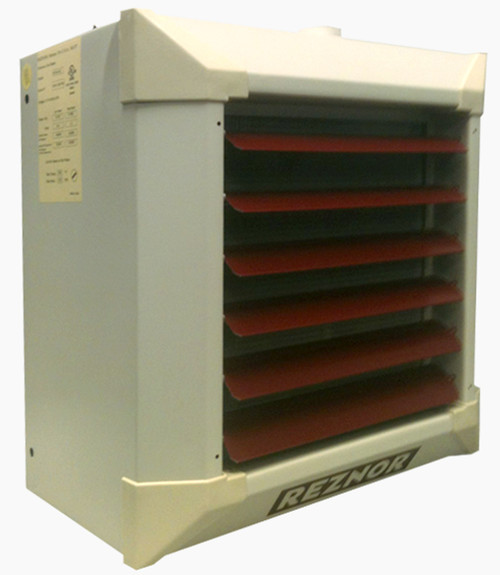 Reznor WS23/33-HA12 Horizontal/Vertical Suspended Hydronic Unit Heater, for Steam Use
