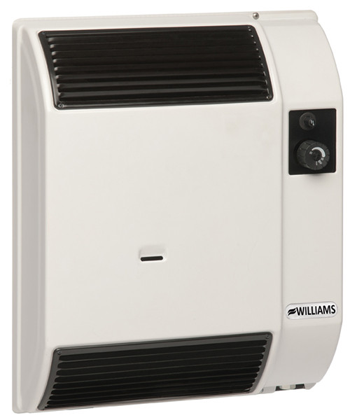 Williams Furnace Company 07435 7,400 BTU High Efficiency Direct Vent Wall Furnace