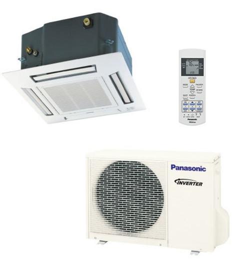 Panasonic E18RB4U 17500 BTU Single Zone Ceiling Cassette System - Heat Pump