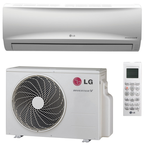 LG LS180HEV1 17000 BTU Mega Series Single Zone System with Heat Pump