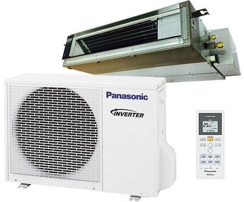 Panasonic E18SD3UA 17200 BTU Low Profile Ducted Ceiling Single Zone Mini-Split System