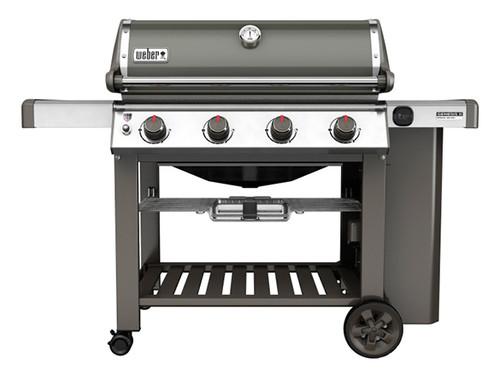 Weber 62050001 Genesis II E-410 Freestanding Gas Grill - Smoke - LP