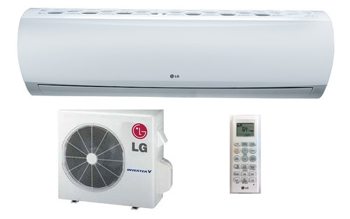 LG LS243HLV 22000 BTU High Efficiency Single Zone Mini Split System with Extended Pipe