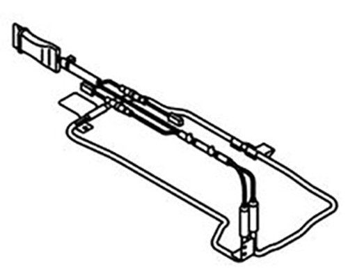 Daikin KEH041A41 Drain Pan Heater