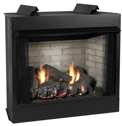 White Mountain Hearth VFD32FB2M Deluxe 32 Breckenridge, Vent-Free Firebox with Refractory Liner