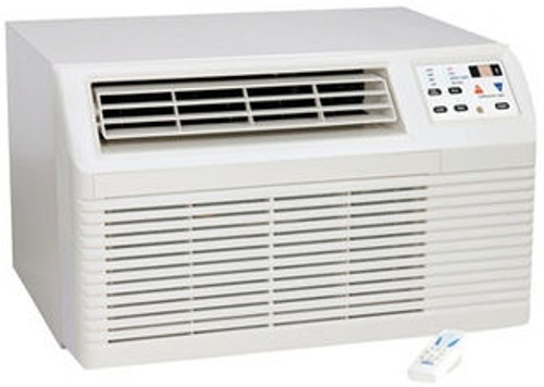 Amana PBE123G35CC 11800 BTU 9.7 CEER, 9.8 EER Thru-the-Wall Air Conditioner with Electric Heat - 208/230V