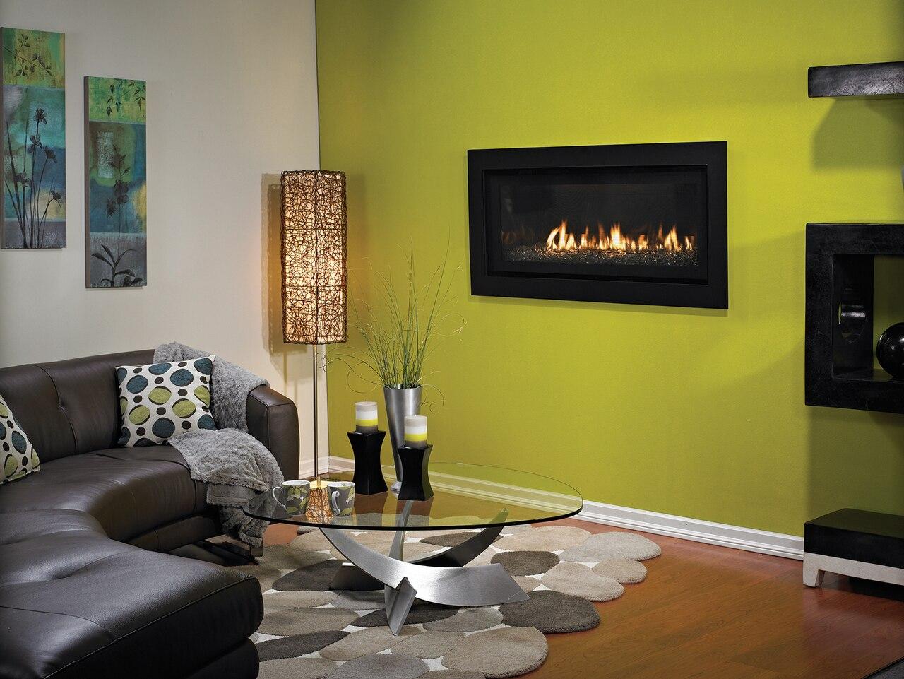 Empire DVLL41FP92P Boulevard Contemporary Direct Vent Fireplace