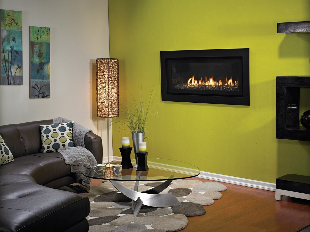 Empire DVLL41FP92P Boulevard Contemporary Direct Vent Fireplace