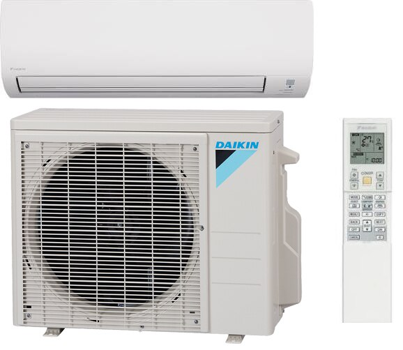 Daikin 12000 BTU 19 SEER Mini Split Heat Pump FTX12NMVJU/RX12NMVJU on running camera, running water, running toilet, running air mask, running sneakers, running paint, running home,