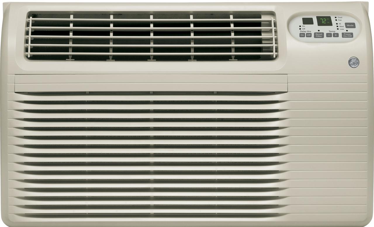 GE AJCQ06LCF Energy Star 6,500 BTU Through-the-Wall Room Air Conditioner ...
