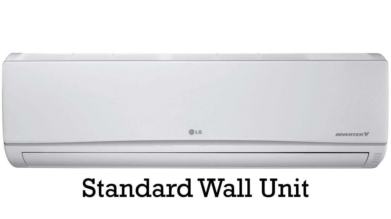 Lg 36000 Btu Flex 4 Zone Mini Split Air Conditioner Lmu36chv Heat Pump