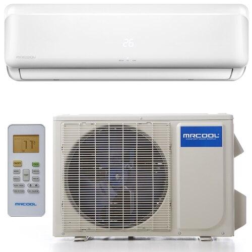 Mrcool 12000 btu diy single zone mini split system 115 volt mrcool diy 12 12000 btu diy single zone mini split with heat pump 115 solutioingenieria Choice Image