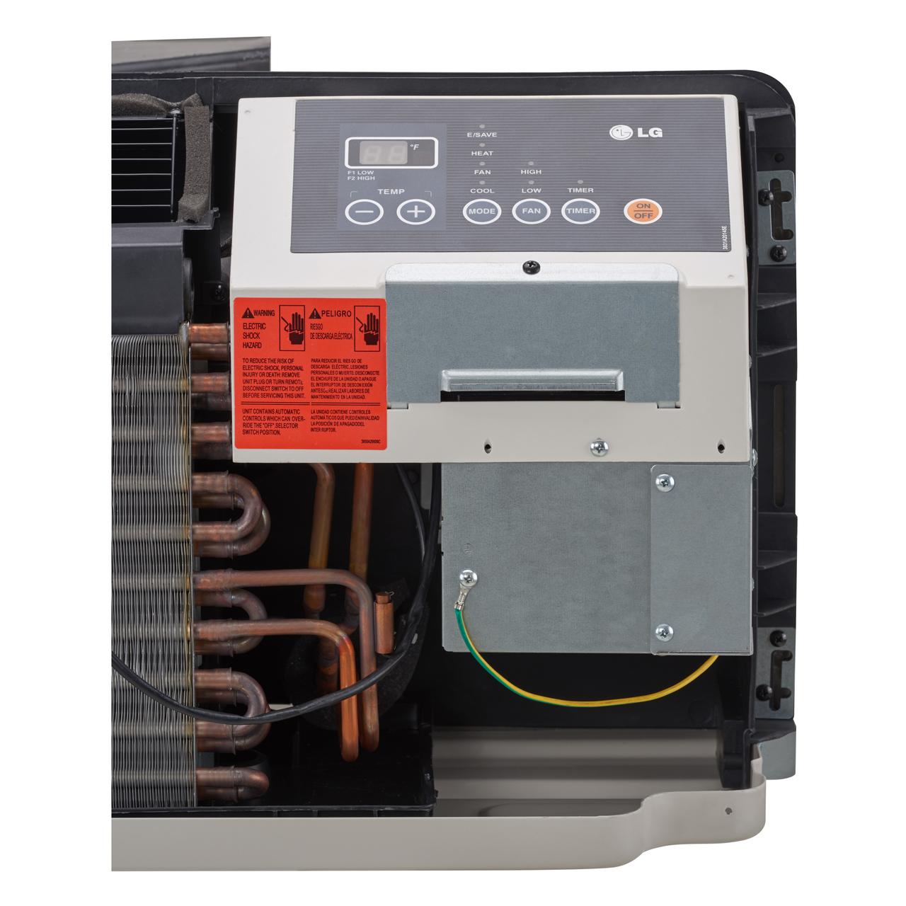 ... LG LP073HDUC 7100/7300 BTU 13.3 EER PTAC Air Conditioner with Heat Pump  - 208