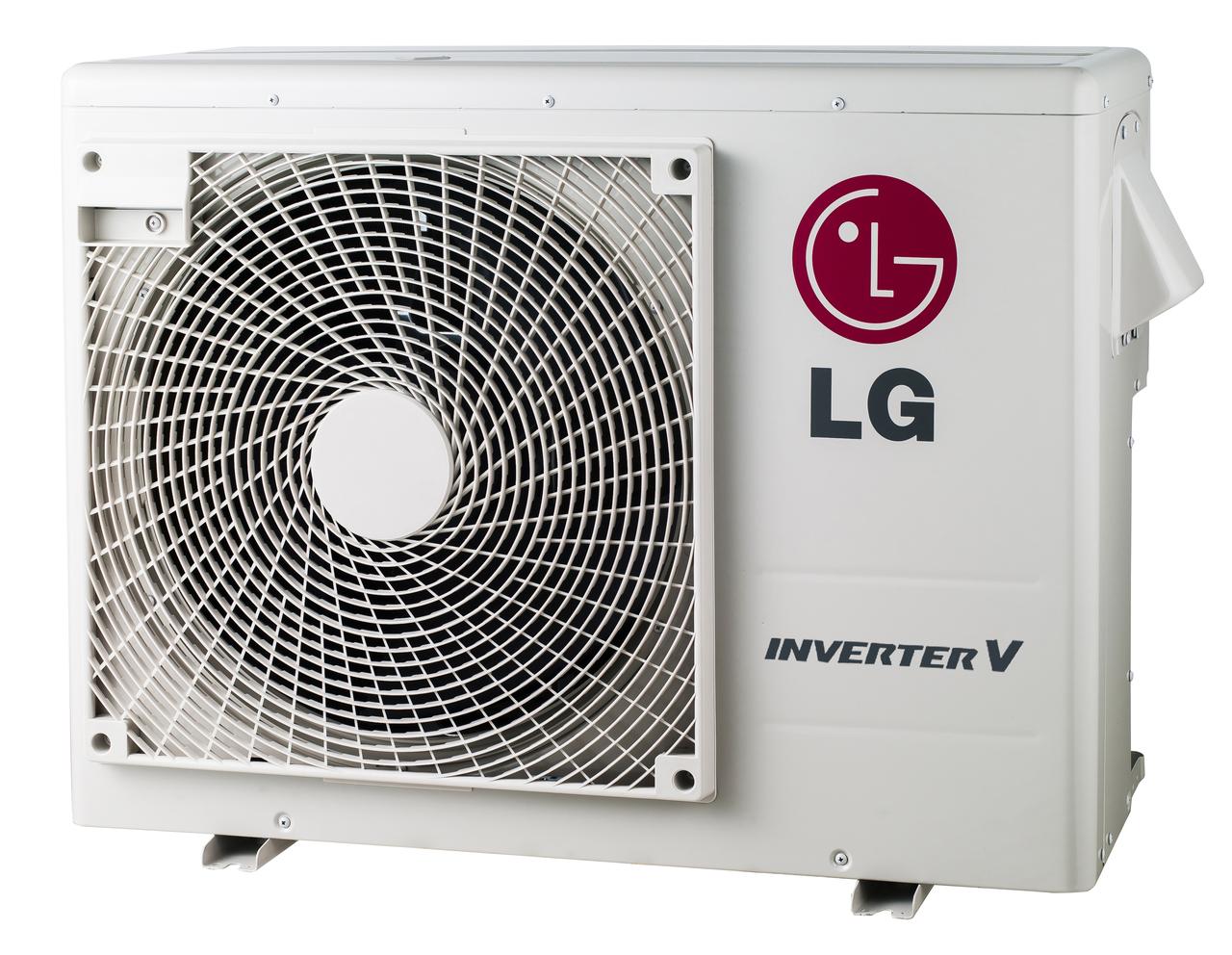 LG LMU18CHV 18000 Class BTU Dual-Zone Multi F Mini-Split Air Conditioner ...