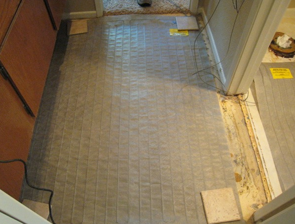 Nuheat Electric Floor Heating Mat 5 Ft Series 240 Volt