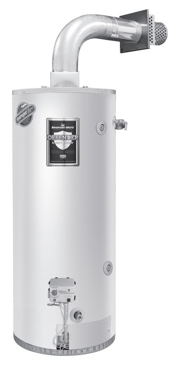 Bradford White Rg2dv50s6nflx 50 Gal Short Direct Vent Ng