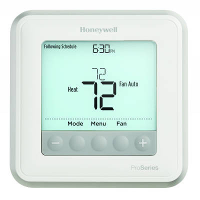 Honeywell Th6210u2001 T6 Pro Series Programmable Thermostat