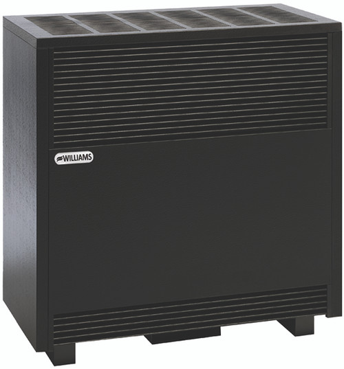 Williams 35000 BTU Vented Hearth Heater, Enclosed Front 3501A