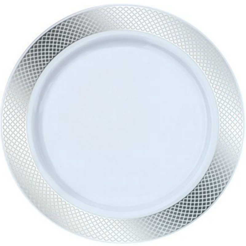 ... Plastic Plates. Decor Crystal diamond and square style. Looks like real china and porcelain!  sc 1 st  Partytrends.Ca & Decor China-Like Crystal 10.25\