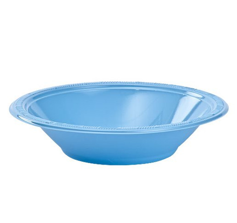 Light Blue 12 oz. Plastic Bowls