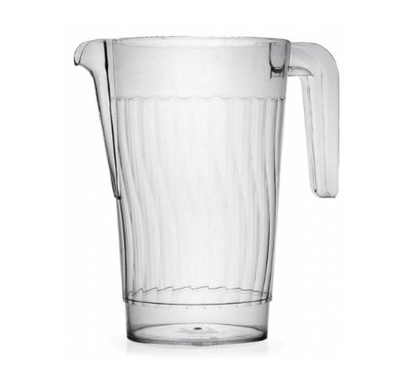 50 oz. Plastic Clear Pitcher