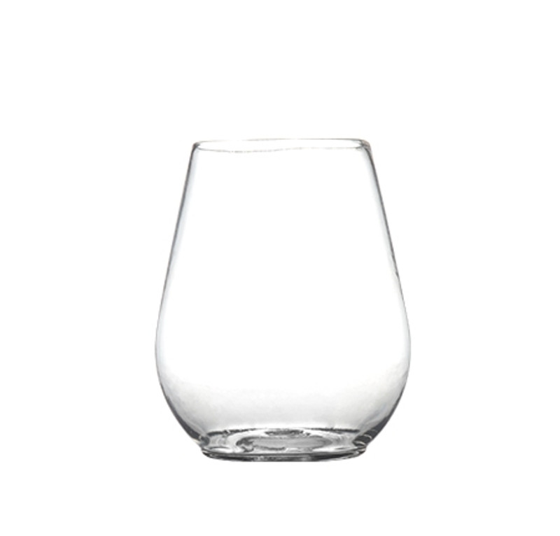 Renaissance Plastic 4 oz. Reusable Stemless Mini Goblets