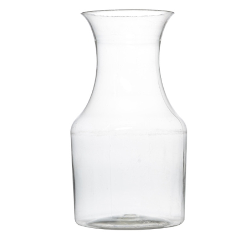 7.5 oz. Plastic Clear Mini Wine Pitcher