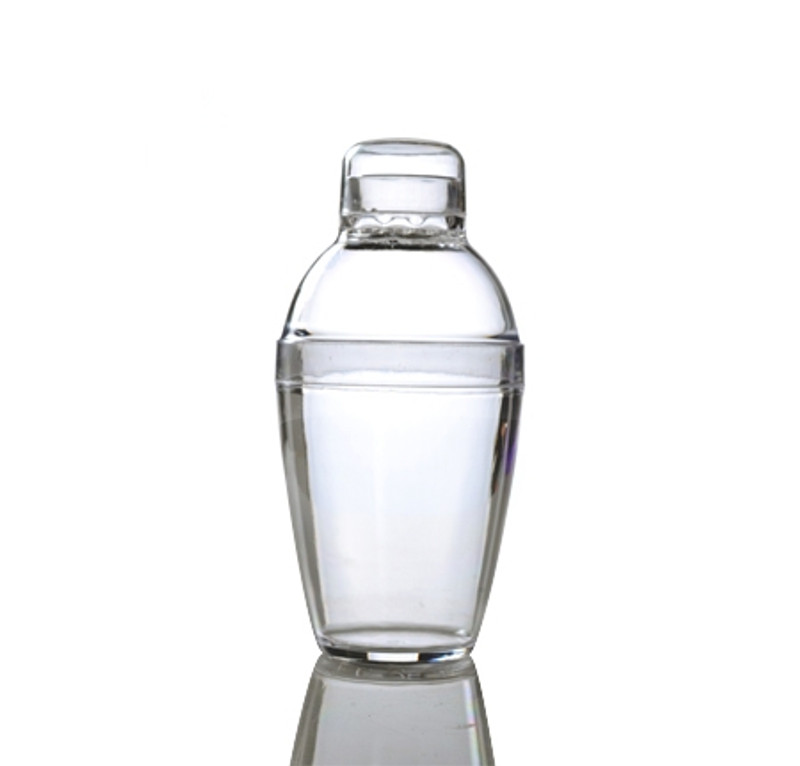 10 oz Plastic Clear Cocktail Shaker
