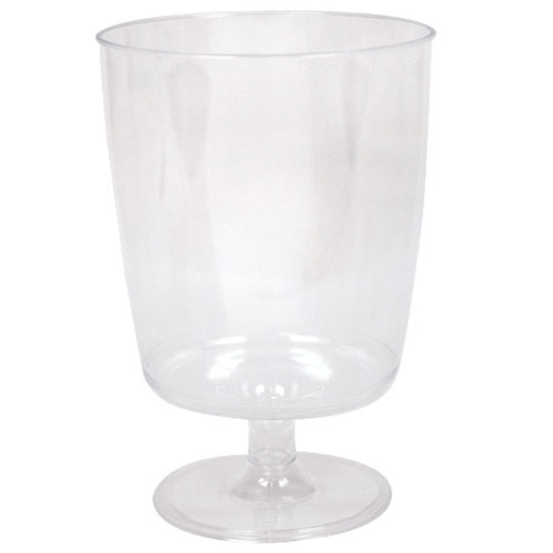 Hanna K. 8 oz. Plastic Wine Glasses