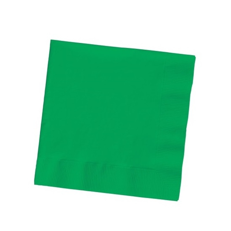 Emerald Green Beverage Napkins