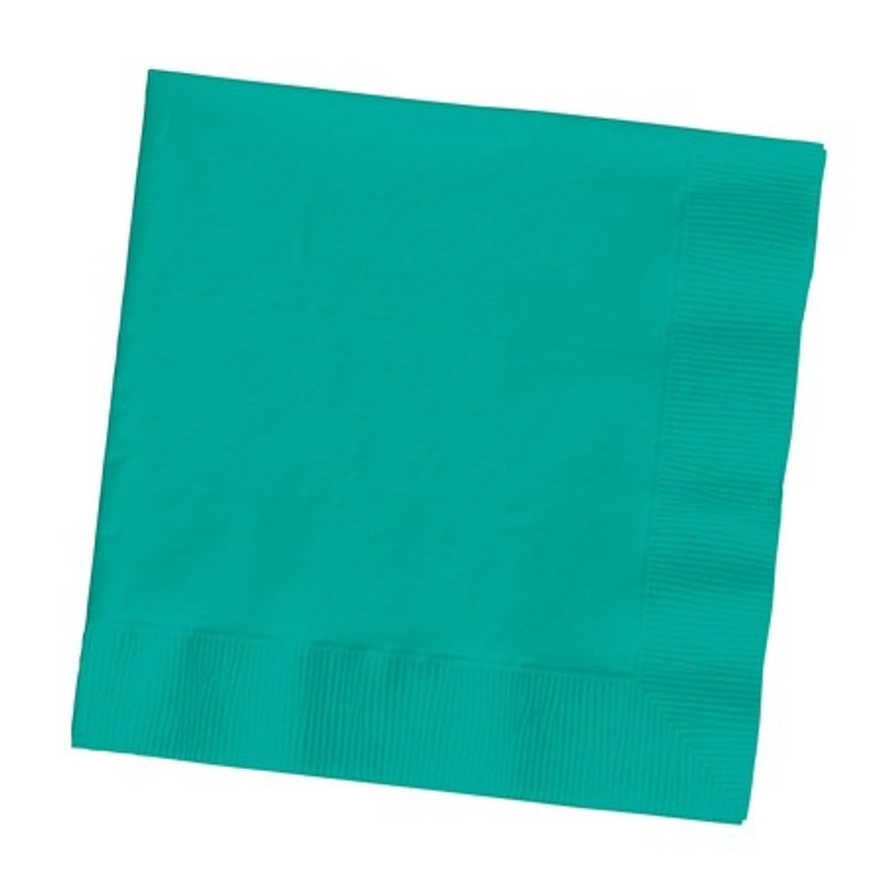Tropical Teal Lunch Napkins