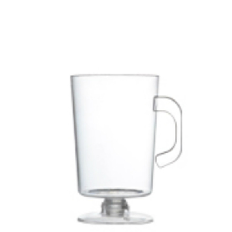 2 oz. Clear Plastic Tiny Espresso Mugs