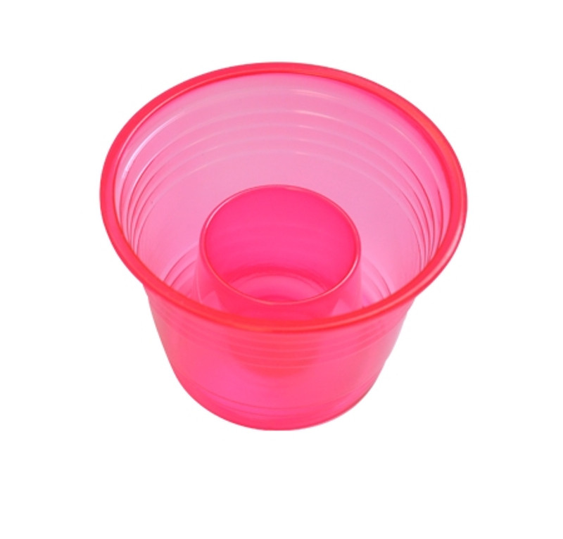 Quenchers 2.75 oz. Neon Red Plastic Blasters