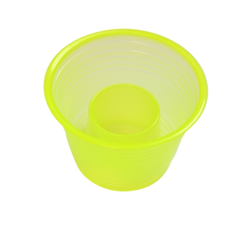 Quenchers 2.75 oz. Neon Yellow Plastic Blasters